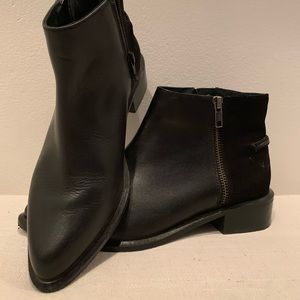 Seychelles Black Ankle Booties - Sz. 7